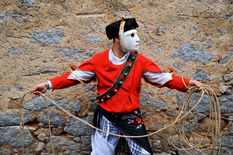 Mamoiada, maschera Issohadore - Fonte Pro Loco Mamoiada