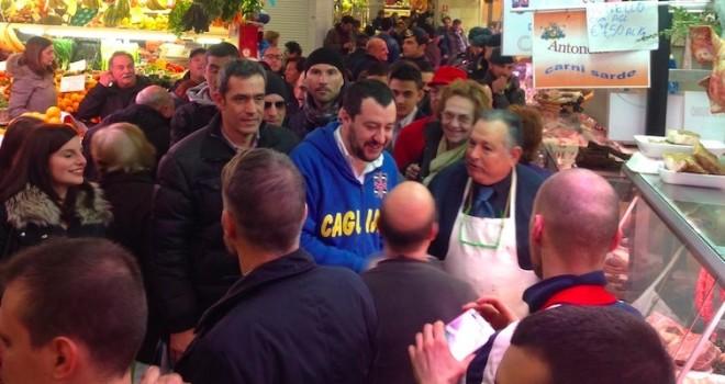 A poco più di un mese dall'arrivo di Matteo Salvini, a Cagliari si prepara già la contestazione