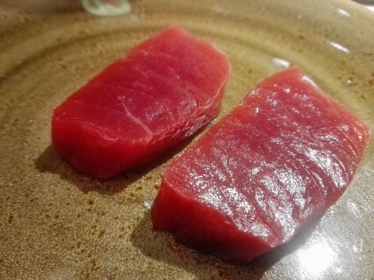 Sashimi di tonno (dettaglio)