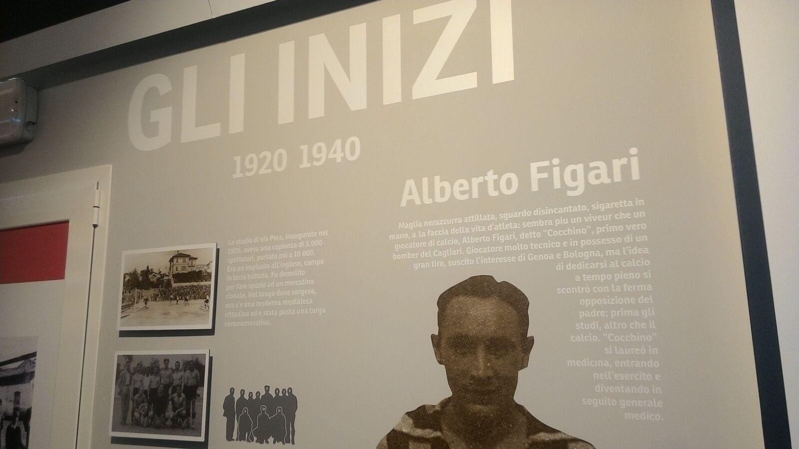 Un tuffo nella leggenda rossoblù: inaugurato oggi il museo del Cagliari (PHOTOGALLERY e VIDEO all'interno)