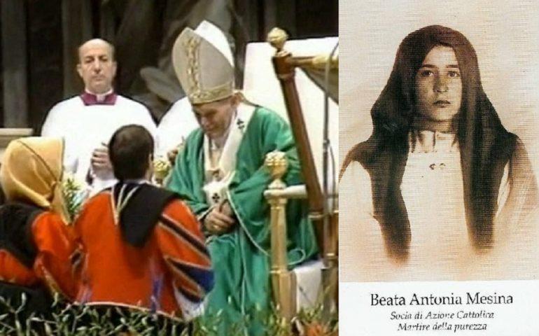 Accadde oggi. 4 ottobre 1987: Antonia Mesina viene beatificata da Papa Giovanni Paolo II
