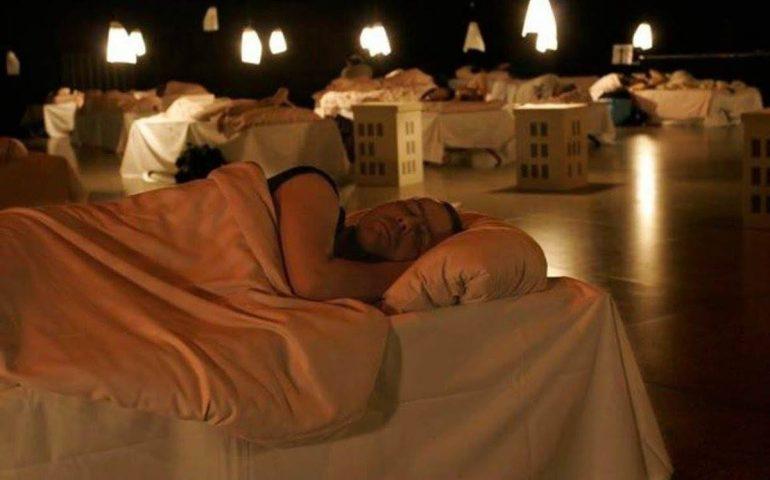 Un teatro dove si possa dormire? Esiste, e lo potrete vedere a Cagliari il 12, 13 e 14 ottobre