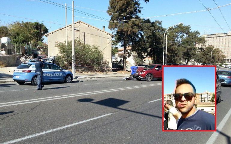 Inseguimento a Cagliari, Smart speronata dalla polizia: due feriti gravi