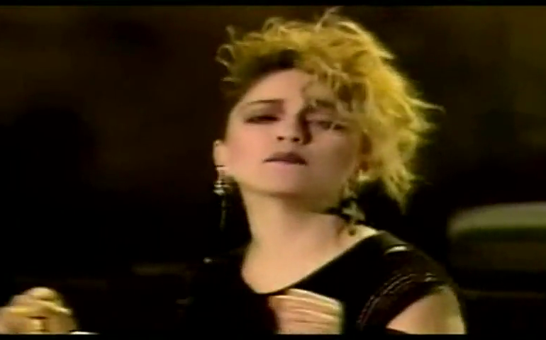 Lo sapevate? Madonna nel 1983 cantò al Biggest di Samassi (VIDEO)