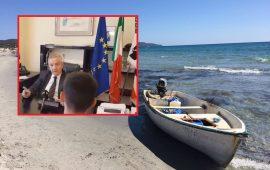 spanu intervistato da tv algerina su migranti algeria