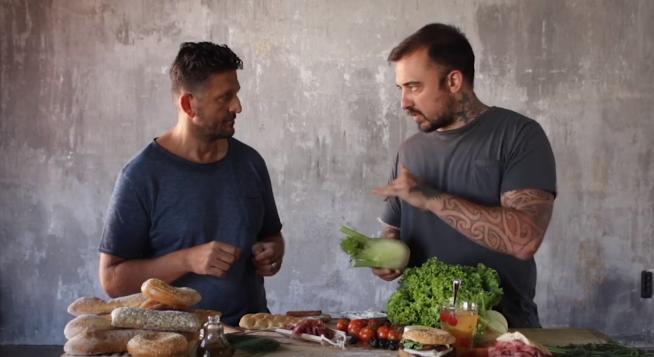 Giorgio Borrelli del Caffè Valentina protagonista insieme a Chef Rubio dello spot per il prossimo concorso Artista del Panino (VIDEO)