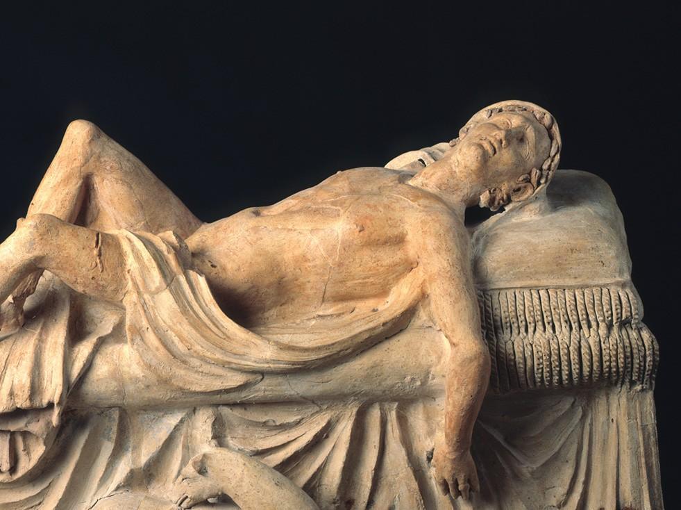 Statua etrusca del III sec. a. C. con Adone morente, Musei Vaticani