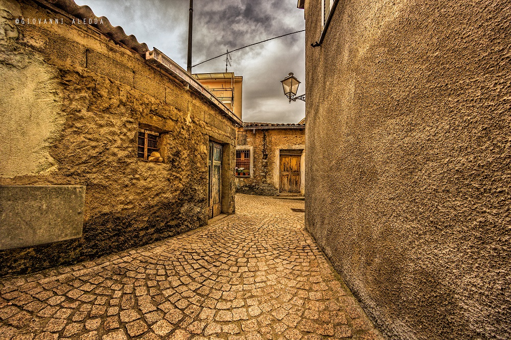 Atzara, altro scorcio del centro storico - Foto di Giovanni Aledda, Fonte www.flicr.com