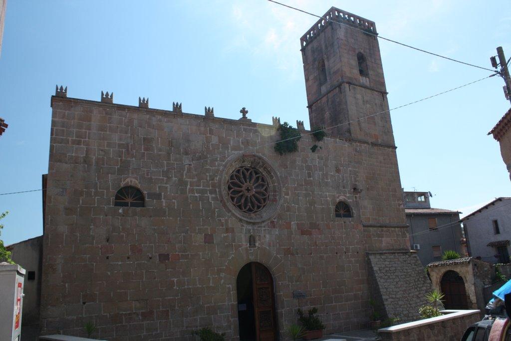 Atzara, parrochiale Sant'Antioco Martire - Fonte www.mapio.net