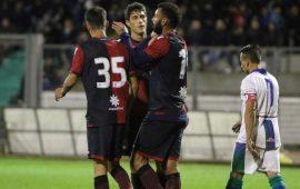Federico Melchiorri torna al gol contro la Nuorese