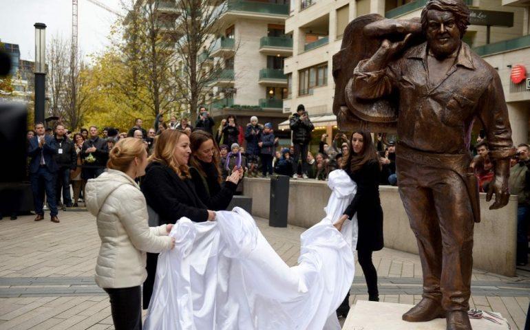 Una statua per Bud Spencer a Budapest