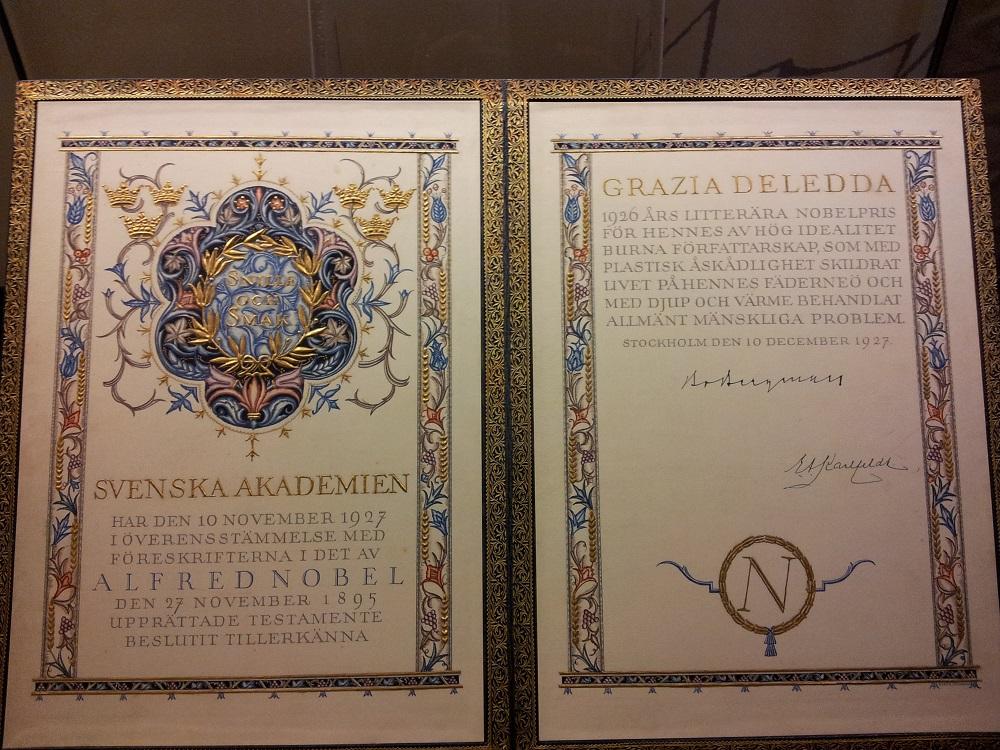 Nuoro, premio Nobel Grazia Deledda - Fonte www.sardegnaturismo.it