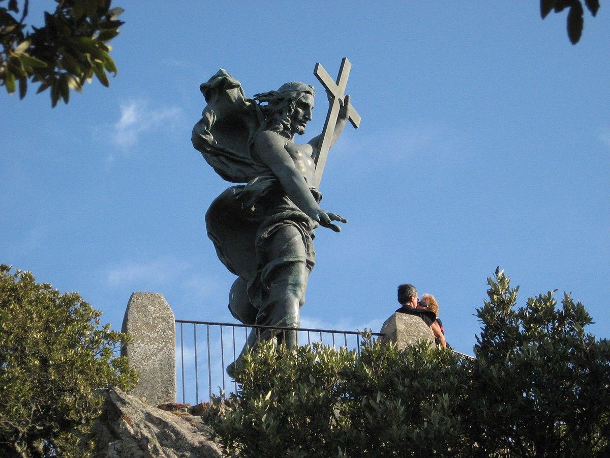 Nuoro, statua del Redentore - Foto Wikipedia