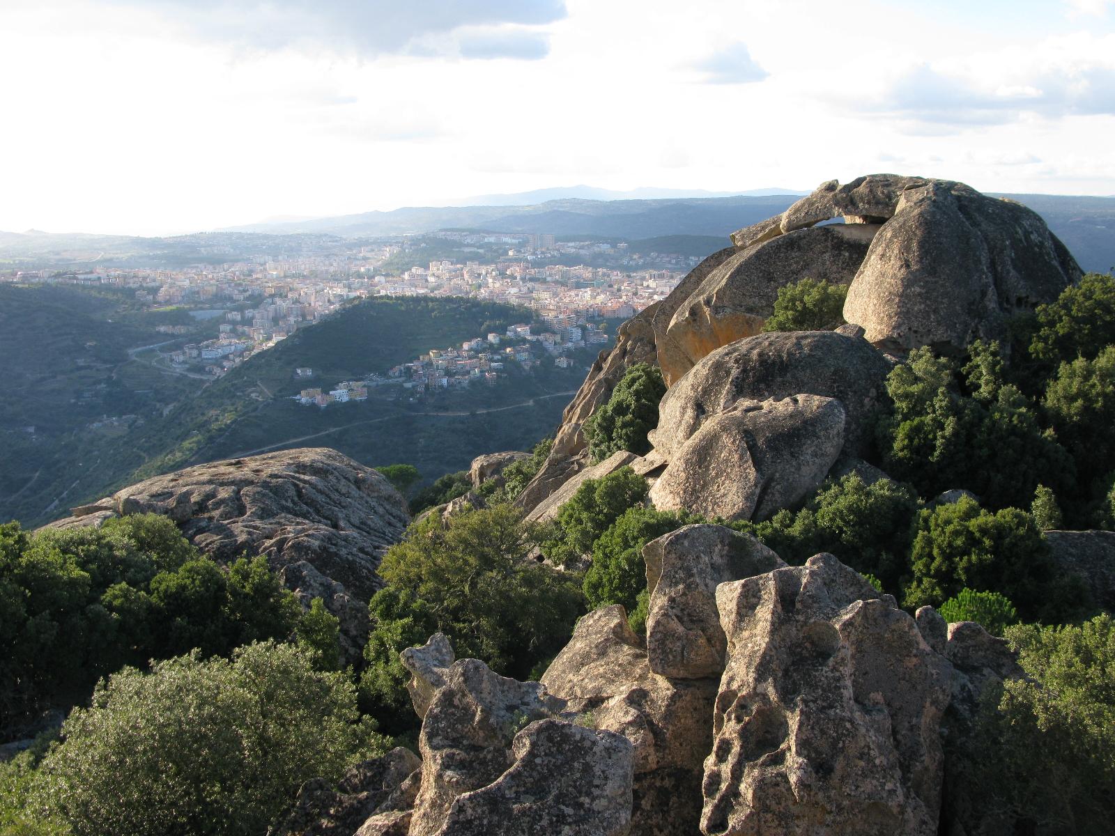 Nuoro, veduta del monte Ortobene - Foto web