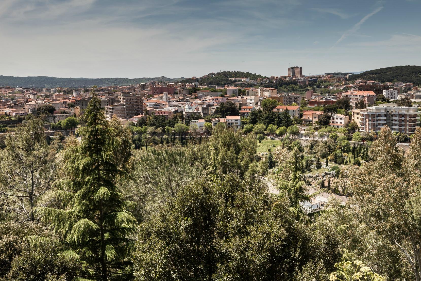 Nuoro, veduta della città - Fonte www.sardegnatursimo.it