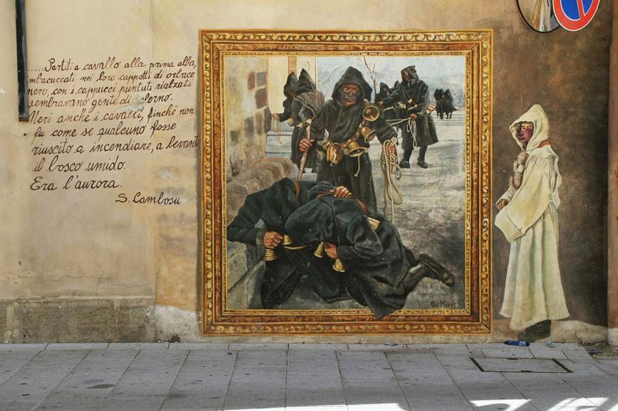 Orotelli, murales nel paese - Fonte www.lamiasardegna.it