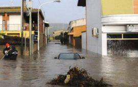 Alluvione Olbia (foto: La Repubblica)