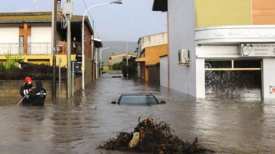"""Accadde oggi: 18 novembre 2013, il ciclone """"Cleopatra"""" semina morte e distruzione a Olbia e in altre zone della Sardegna"""