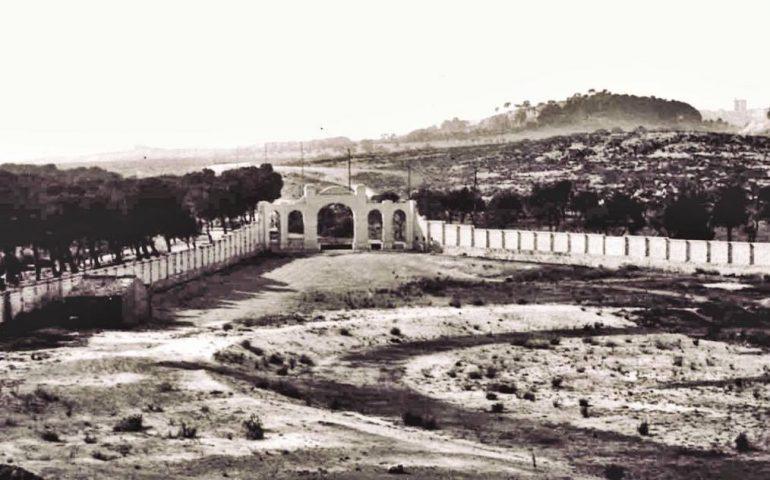 La Cagliari che non c'è più: lo spazio dove nel 1923 verrà costruito lo Stadio Amsicora
