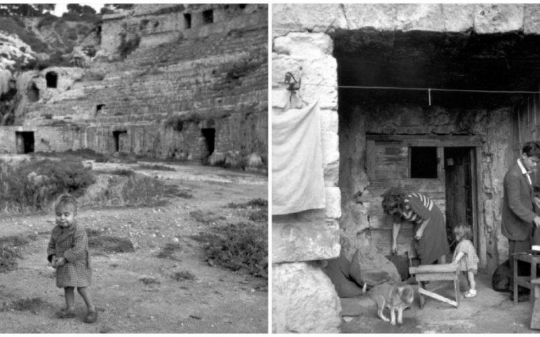 La Cagliari che non c'è più: 1950, l'Anfiteatro abitato dagli sfollati dopo le bombe della guerra