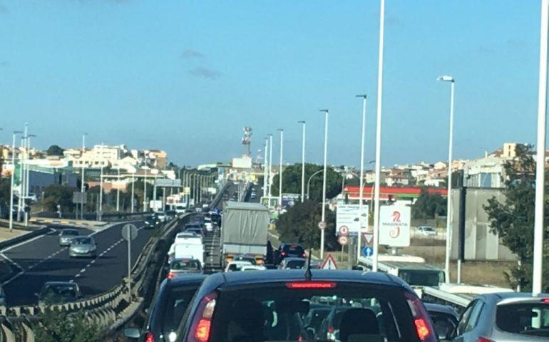 Lavori sull'Asse mediano domani mattina: possibili disagi al traffico per restringimento di una carreggiata