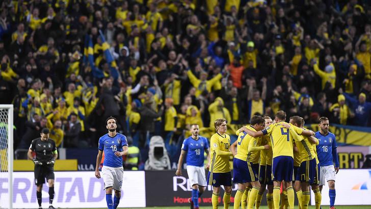 L'Italia perde l'andata dello spareggio per i Mondiali in Svezia: a San Siro serve l'impresa