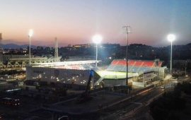 Cagliari: i rossoblù sempre in notturna alla Sardegna Arena fino a febbraio