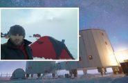 Un anno al Polo Sud: un ingegnere elettronico dell'Osservatorio astronomico di Cagliari in missione tra i ghiacci dell'Antartide