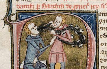 2. un medico in una miniatura medievale