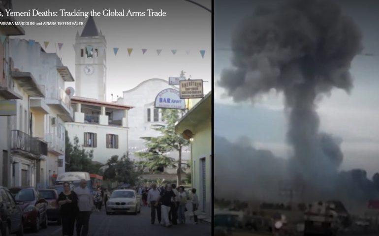 """""""Le bombe sarde uccidono i civili in Yemen"""": reportage da brividi del New York Times sulla fabbrica di Domusnovas (VIDEO)"""