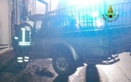 Incidente stradale Fonni pick up