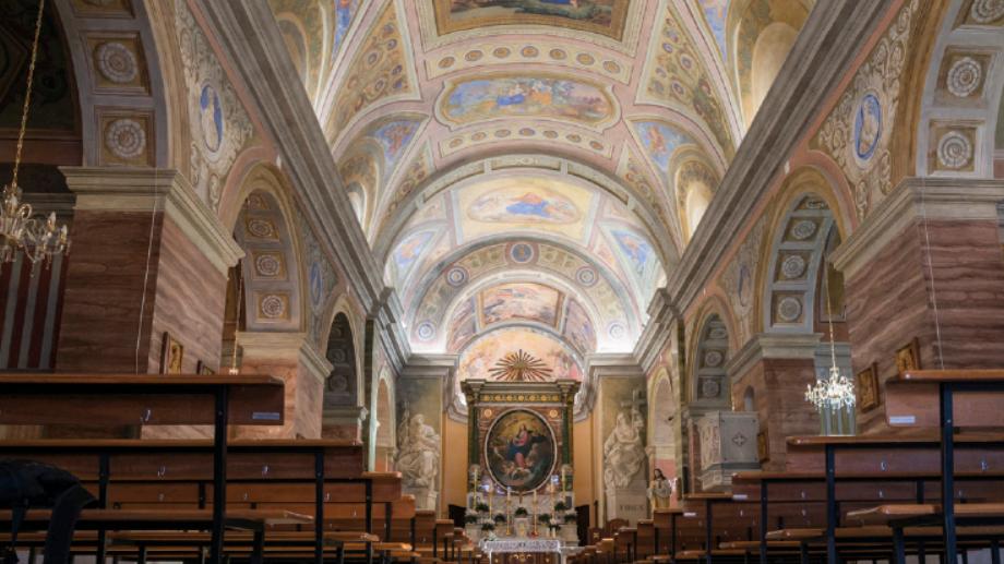 Orune, interno chiesa Santa Maria della Neve della - Fonte www.cuoredellasardegna.it
