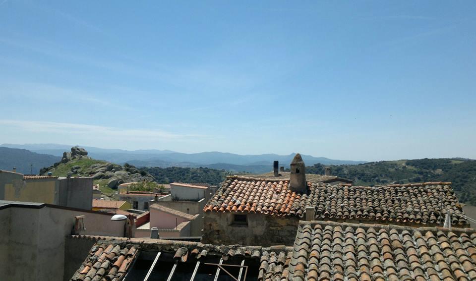 Orune, scorcio sul paese - Fonte www.oruneonline.it