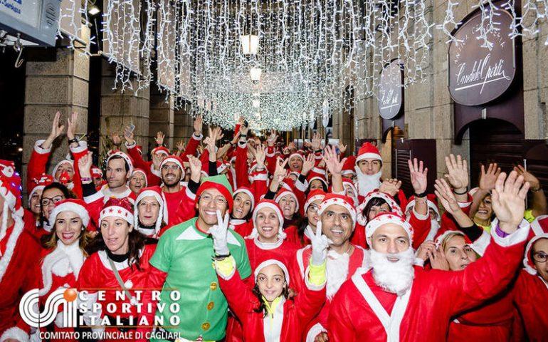 Babbi Natale.Babbi Natale In Corsa A Cagliari Ritorna L Appuntamento Con