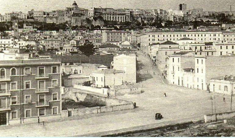 La Cagliari che non c'è più: via Dante e via Alghero negli anni Trenta