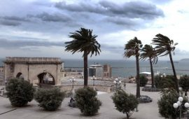 Continua a soffiare fortissimo il maestrale in Sardegna: nuova allerta meteo della Protezione Civile