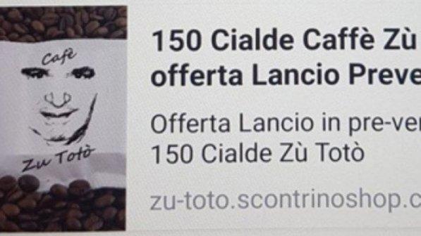 Totò Riina: su Internet spunta annuncio di una linea di caffè dedicata al boss corleonese