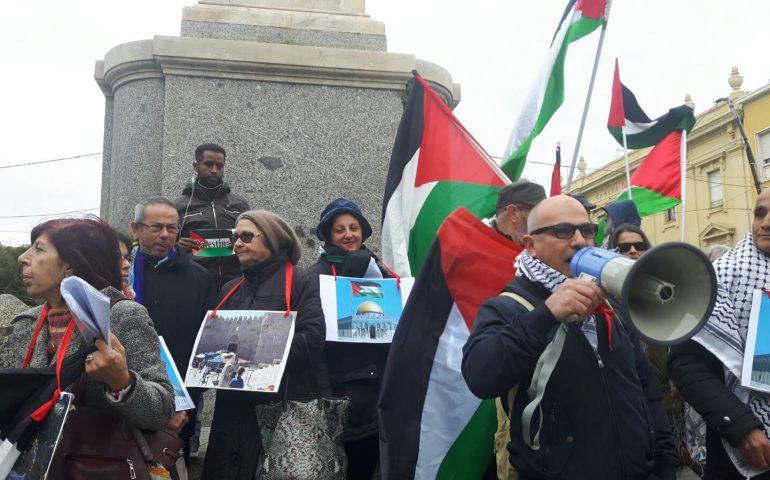 Un migliaio di dimostranti a Kabul contro Trump e Israele