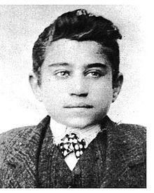 Antonio Gramsci all'età di 15 anni
