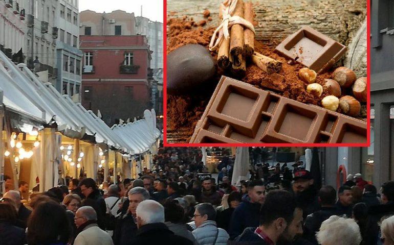 Ritorna nel corso Vittorio Emanuele II la Festa del cioccolato, il paradiso dei golosi