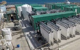 A Sarroch è stato costruito il più grande impianto di desalinizzazione del Mediterraneo