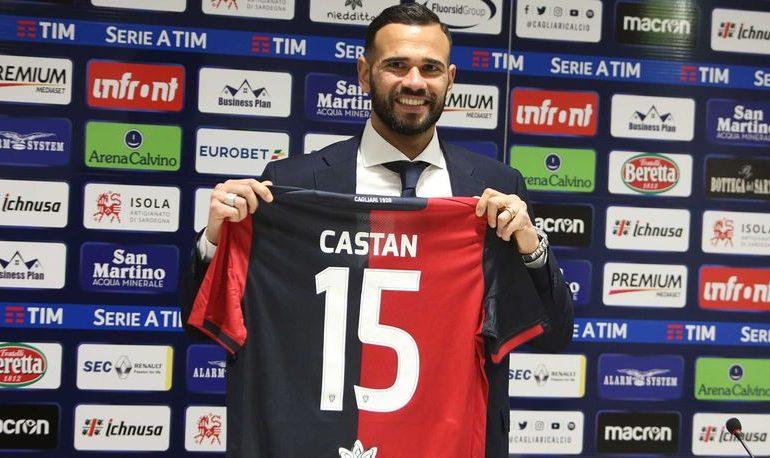 """Castan: """"Pronto a dare il massimo anche da subito. Cagliari società ambiziosa"""""""