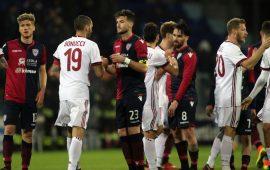 La sconfitta col Milan lascia alcuni problemi: il Cagliari perde ben quattro titolari per Crotone