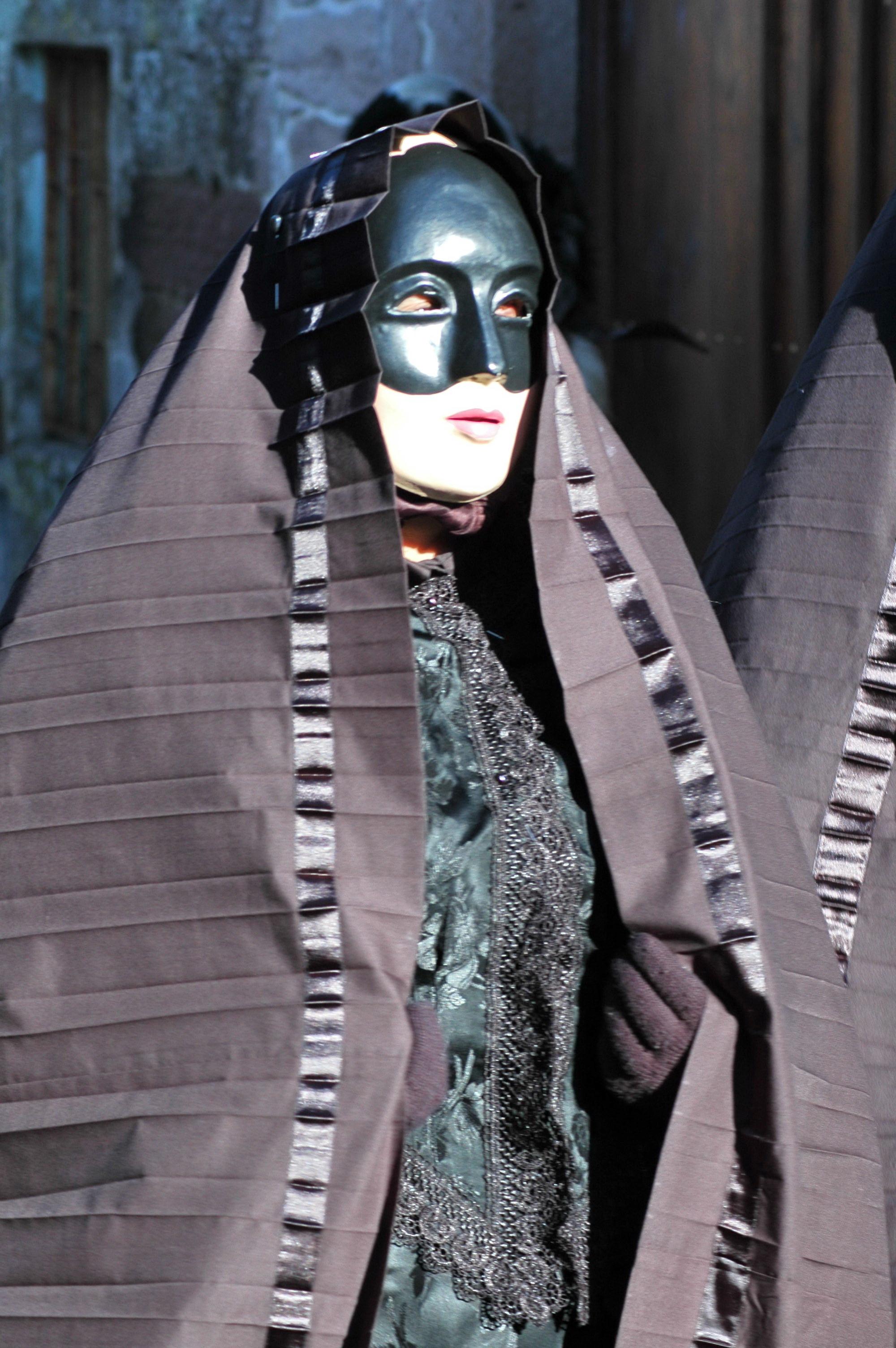Aidomaggiore, la maschera a Lenzolu del Martedì grasso - Foto di Cristiano Cani