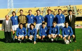 Una formazione del La Palma 1989-90