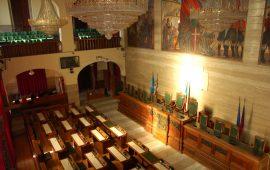 Aula consiglio comunale Cagliari