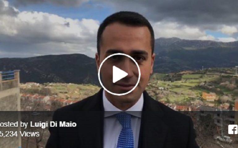 M5s, cinque tappe in due giorni per Di Maio in Sardegna