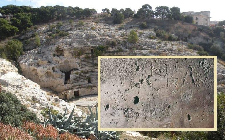 Lo sapevate? A Cagliari vicino all'anfiteatro c'è un graffito: è l'ultimo messaggio di un martire cristiano prima di morire