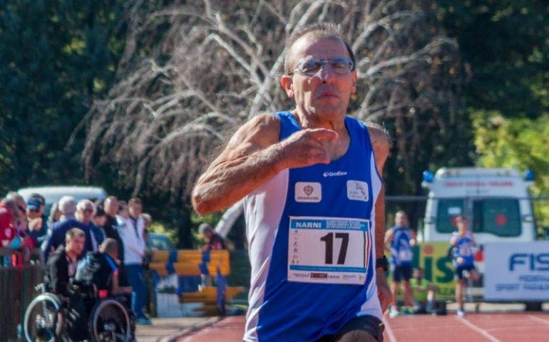Il Parkinson gli ha cambiato la vita: ma Roberto Musiu continua a correre e colleziona record