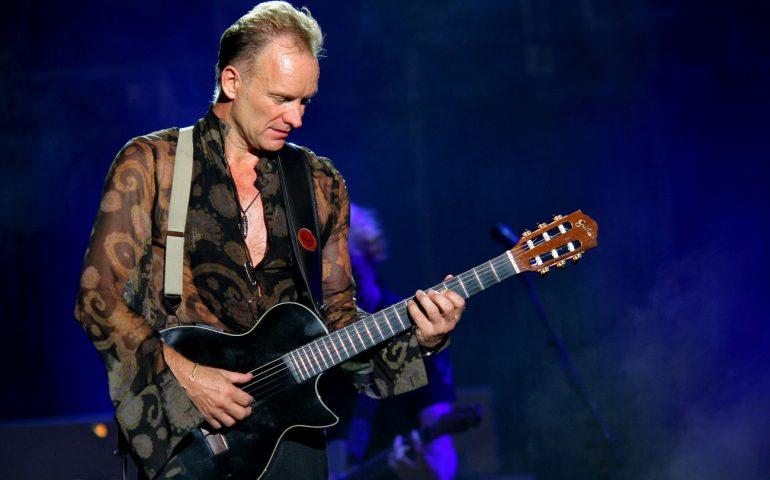 Musica, arriva il primo supernome dell'estate in Sardegna: Sting in concerto al Forte Arena di Pula